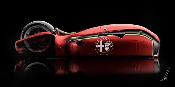 Concept Alfa Romeo Spirito par Mehmet Doruk Erdem