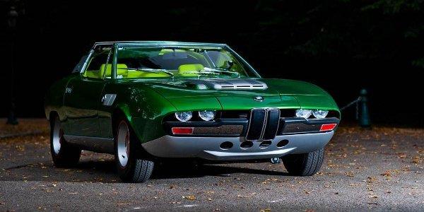 Concept BMW Spicup 1969 chez Bonhams
