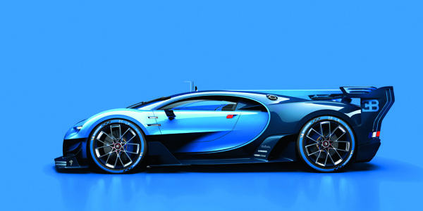 Bugatti dévoile son concept Vision GT