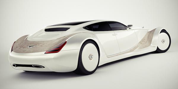 Bentley Luxury Concept par Andreas Fougner Ezelius