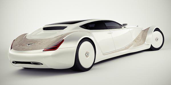 Bentley Luxury Concept par Andreas Fougner Ezelius