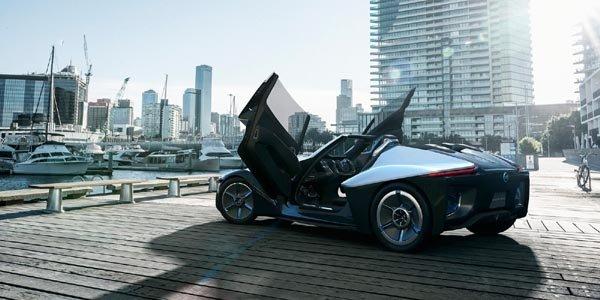 Concept-car Nissan BladeGlider