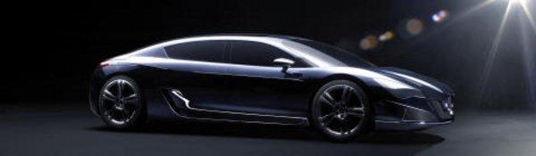 Peugeot : concept-car hybride au Mondial