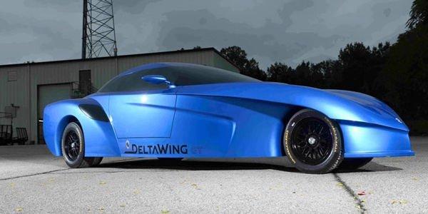 Le concept DeltaWing GT pour la route