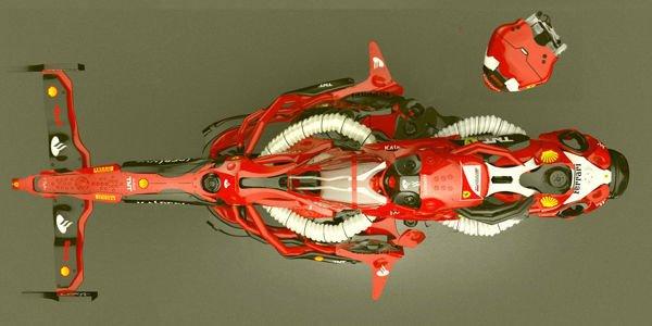 Concept Ferrari F1 Racing par Darko Markovic