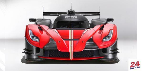 Concept Ferrari LMP1 par Daniele Pelligra