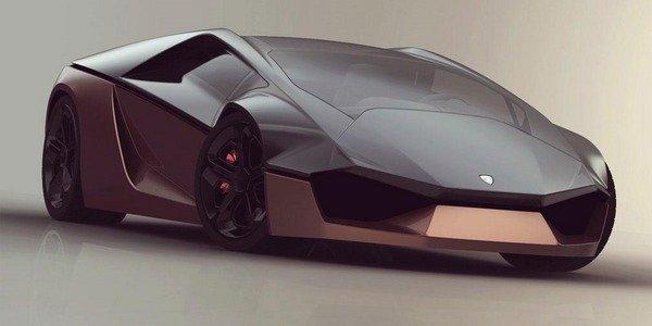 Concept Lamborghini Ganador