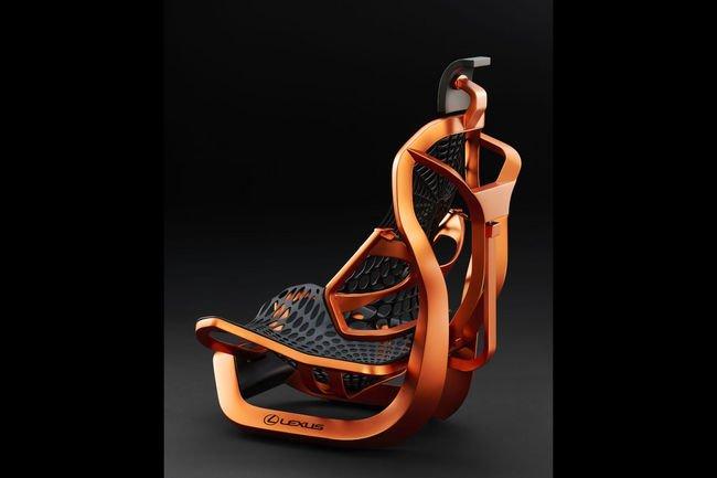 Lexus Kinetic Seat : le siège toile d'araignée du futur