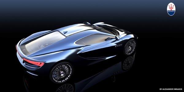 Concept Maserati Bora par Alex Imnadze
