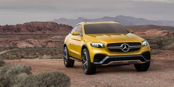 Mercedes dévoile son concept GLC Coupé