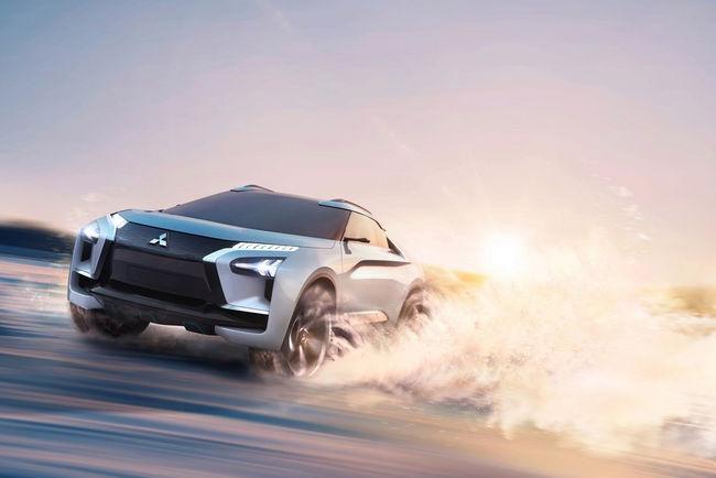 Tokyo : Mitsubishi e-Evolution Concept