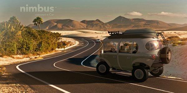 Concept e-car Nimbus par Eduardo Galvani