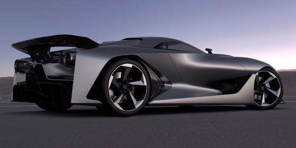Concept Nissan 2020 Vision Gran Turismo