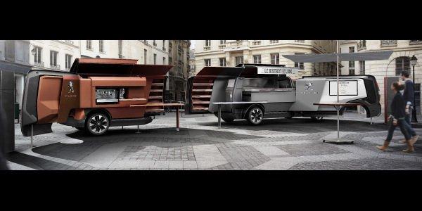Peugeot présente son concept Foodtruck
