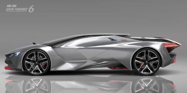 Peugeot dévoile son concept Vision GT