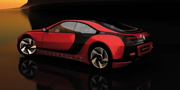 Concept Renault Fuego par Idecore