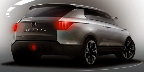 Francfort 2011: Concept SsangYong XIV-1