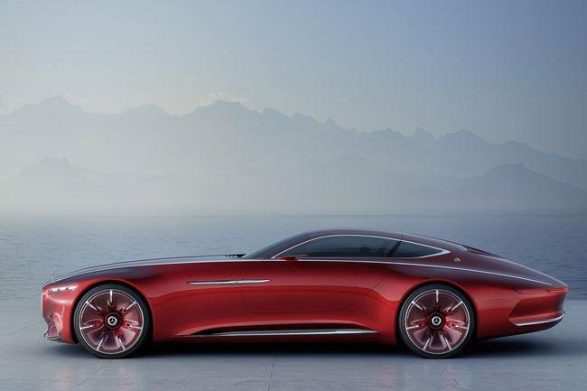 Vision Mercedes-Maybach 6 : 750 ch électriques
