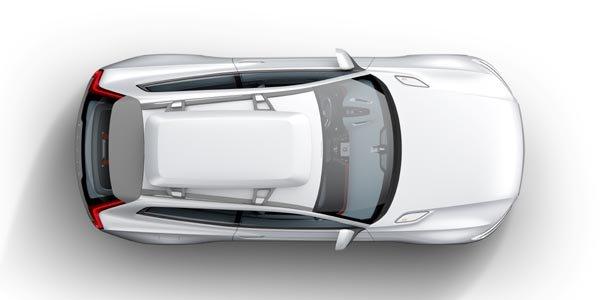 Le Volvo XC Coupé concept en images
