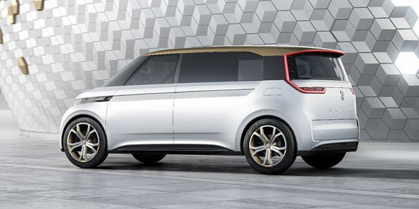 Concept Volkswagen Budd-e : combi moderne