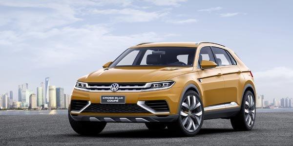Concept VW Crossblue Coupé Hybride
