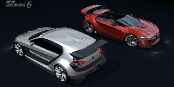 VW dévoile son concept GTI Supersport Vision GT