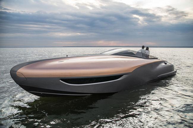 Lexus présente un concept de Yacht de Sport