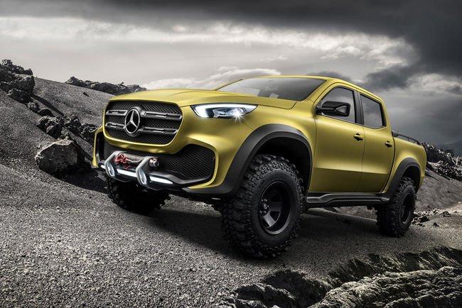 Mercedes dévoile son concept Classe X