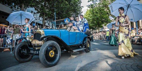 Un Concours d'élégance aux 24 Heures du Mans