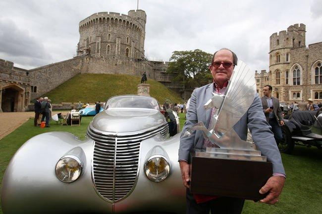 Une Hispano-Suiza primée au Concours d'Élégance de Windsor
