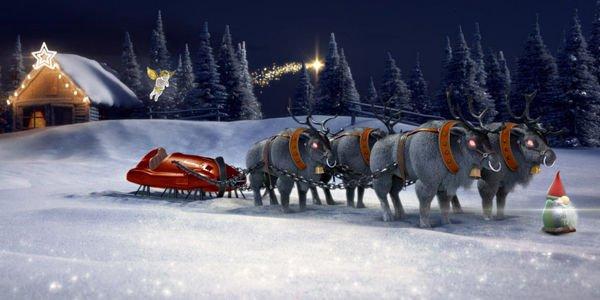 Configurez votre traineau de Noël avec Mercedes
