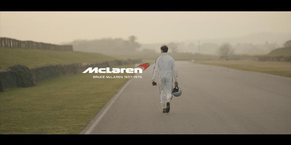 L'hommage à Bruce McLaren en vidéo