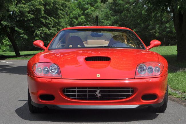 Coys: une rare Ferrari 575MM aux enchères
