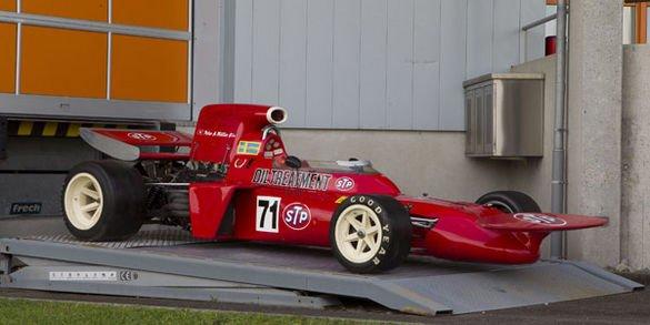 Une March F1 ex-Niki Lauda aux enchères chez Coys