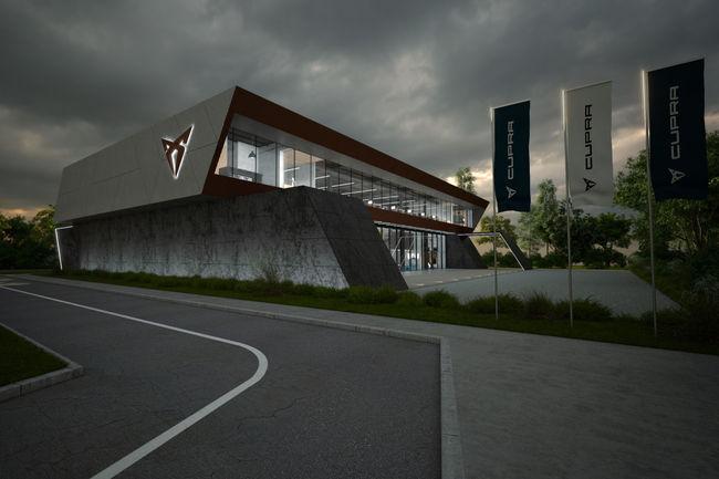 Un nouveau siège social en construction pour CUPRA