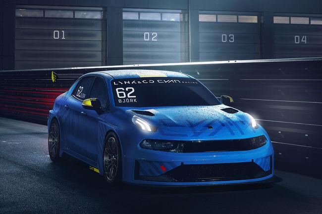 Un concept-car et une voiture de course pour Lynk & Co et Cyan Racing