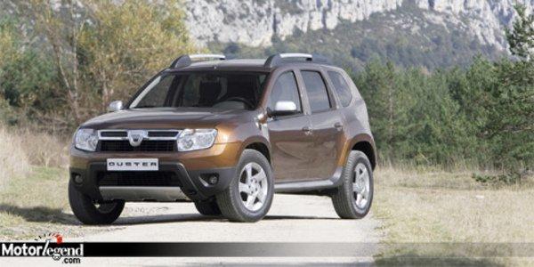 Le Dacia Duster définitif dévoilé.