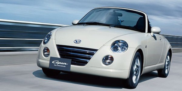 Production stopée pour la Daihatsu Copen