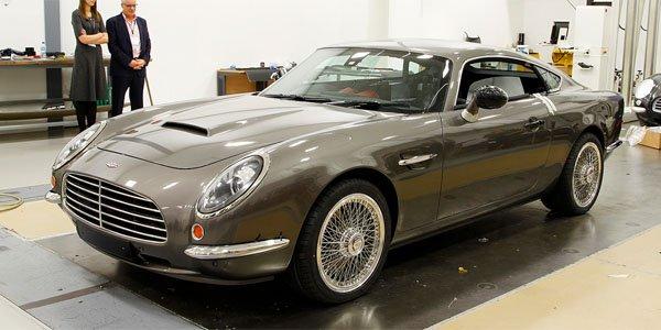 Speedback GT, une Aston Martin DB5 néo-rétro