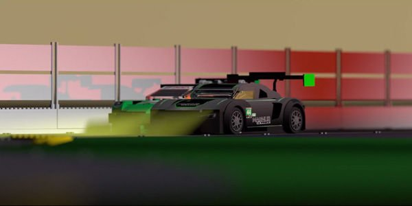 Daytona : Magnus Racing passe en mode Lego