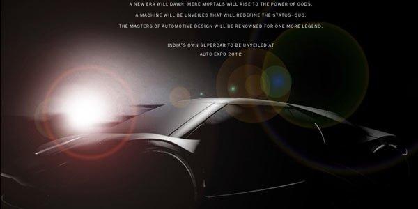 DC Design annonce une supercar indienne