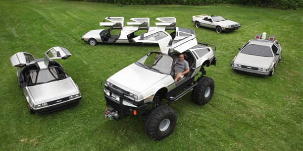 Fan de DeLorean, il la décline en différentes versions