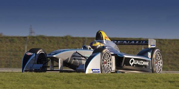 Premier roulage réussi pour la Formula E
