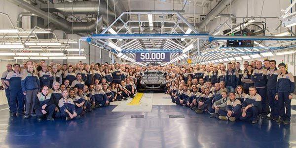 50 000 Maserati produites à Grugliasco