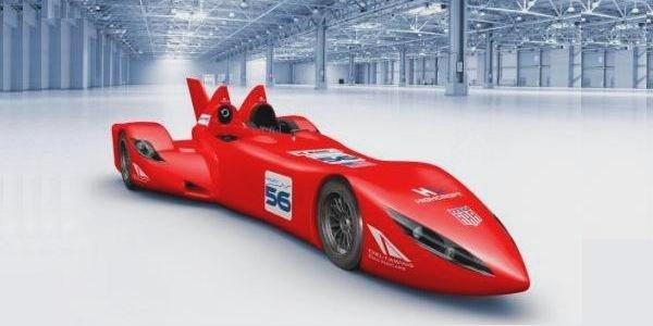 La DeltaWing aux 24H du Mans 2012