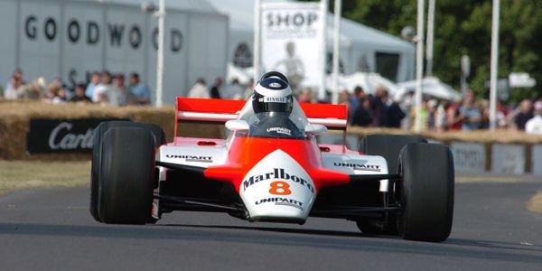 Les F1 à effet de sol à l'honneur à Goodwood