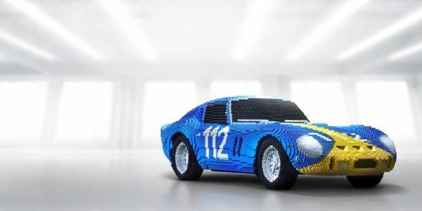 Des Ferrari en Lego à l'échelle 1:2