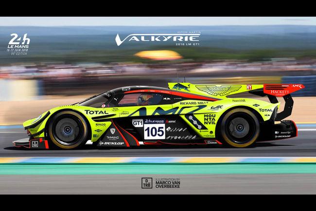 Design : les Supercars actuelles en mode Le Mans