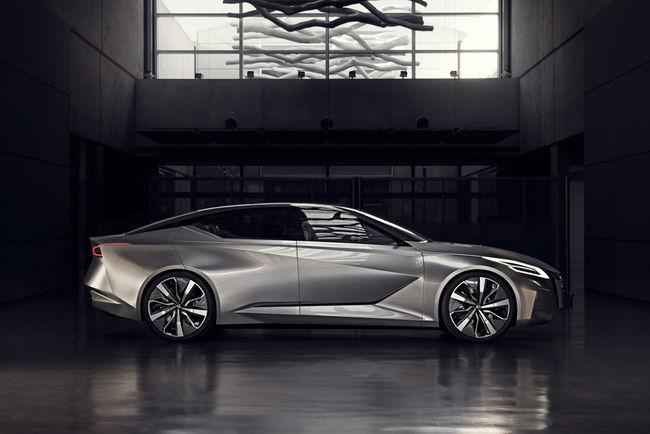 Detroit : concept Nissan Vmotion 2.0