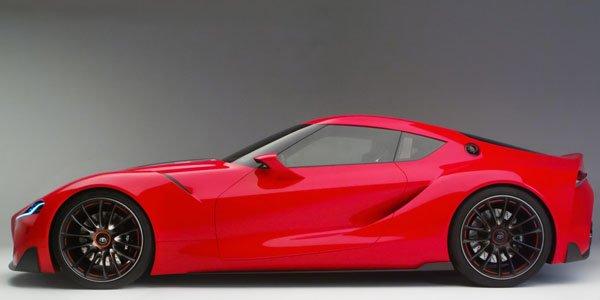 Détroit 2014 : Toyota FT-1 Concept